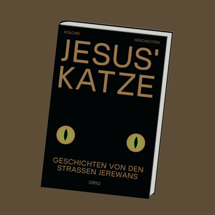 """""""Jesus' Katze"""" - Coverbild"""